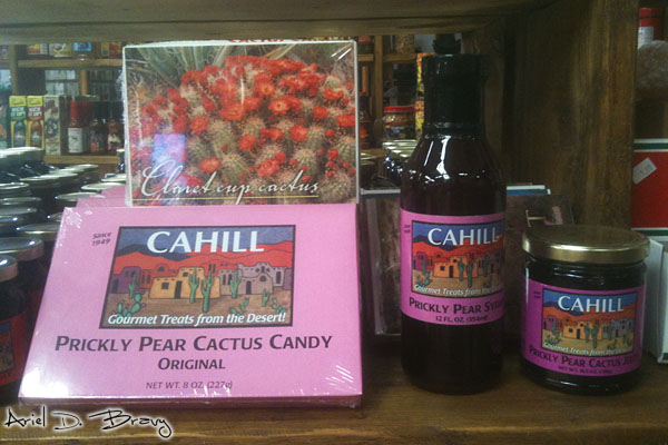 Prickly pear candy and jelly