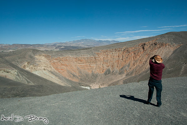 Jamiel at Ubehebe Crater