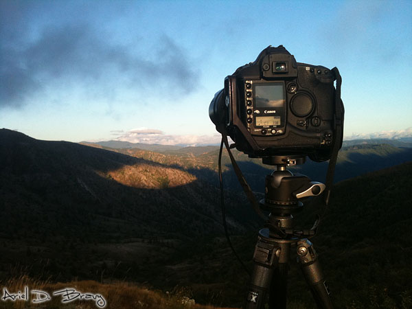 Shooting a timelapse of Mt. Adams