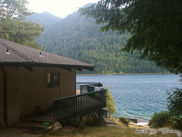 Le Sage facing Lake Crescent
