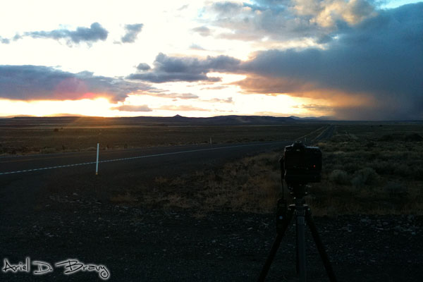 Shooting some sunset timelapse action