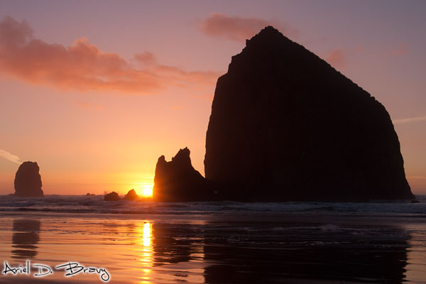 Sunset at Cannon Beach