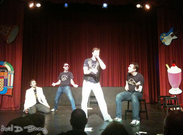 Jet City Improv performing