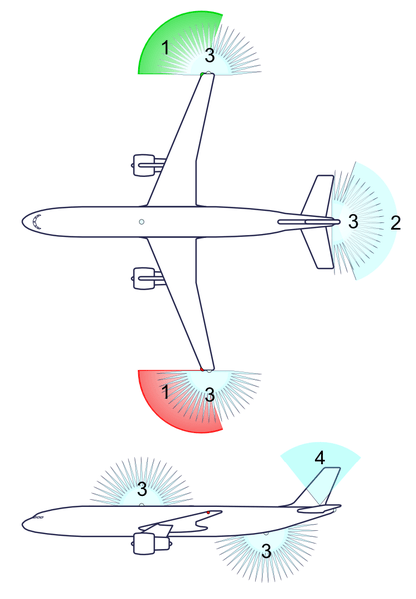 Airplane anti-collision lights