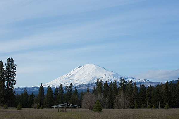 Mt Adams from ECETI ranch