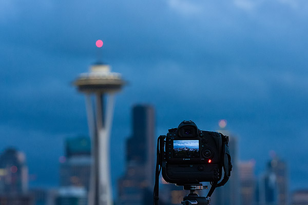 Shooting the Space Needle