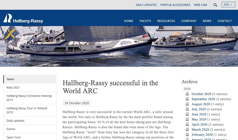 Sito Hallberg-Rassy