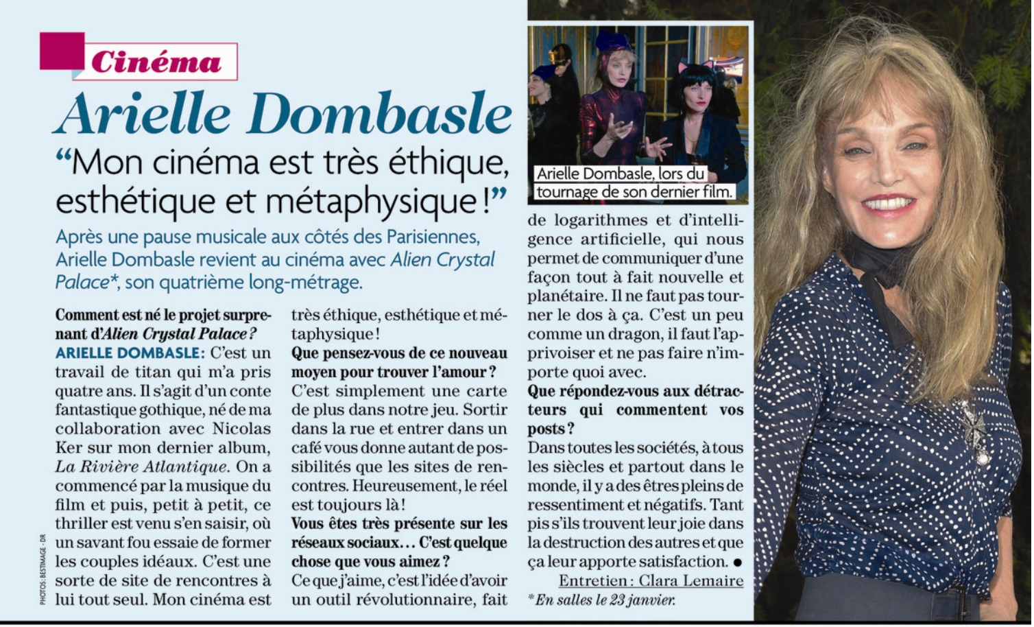 ACP - Télé Star (14 janvier 2019)