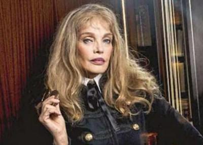 Portrait d'Arielle Dombasle paru dans ELLE