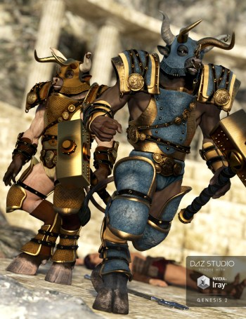 Textures for Bestial Armour for Genesis 2 Male