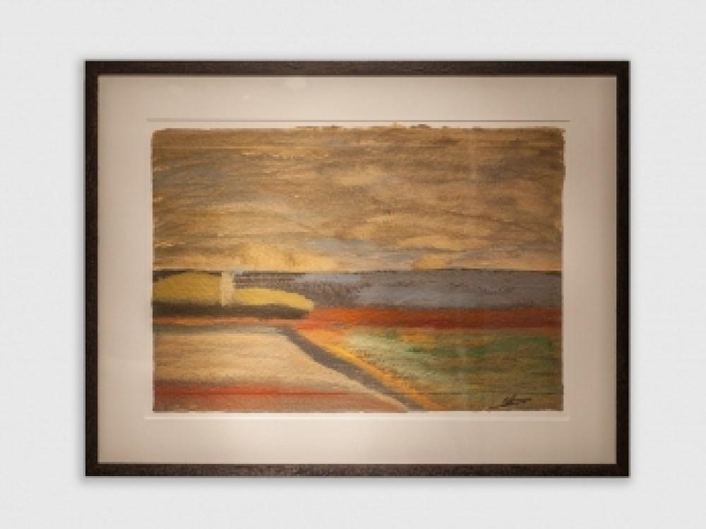 Landschap / Landscape 840 X 640MM incl. lijst/frame