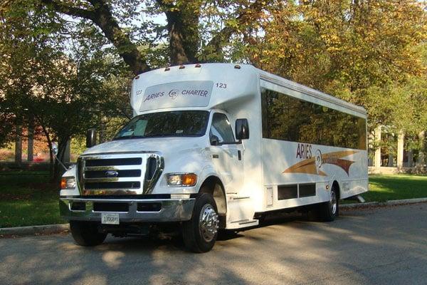 39 Passenger Mini Bus Rental Chicago