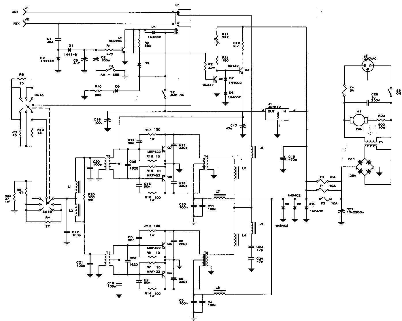 Buku Persamaan Ic Dan Transistor Amplifier Schematic