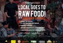 "GALLERY: ""Local Goes To Rawfood"" Workshop tour of Java"