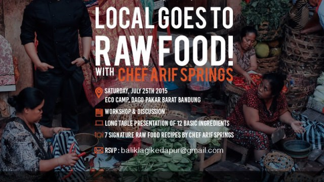 """GALLERY: """"Local Goes To Rawfood"""" Workshop tour of Java"""