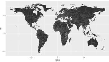 Administrative Maps And Projections In R Rbloggers - Choropleth map us projection
