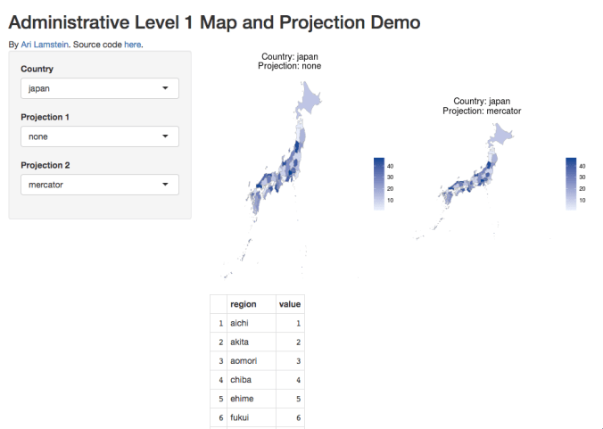 Administrative Maps and Projections in R