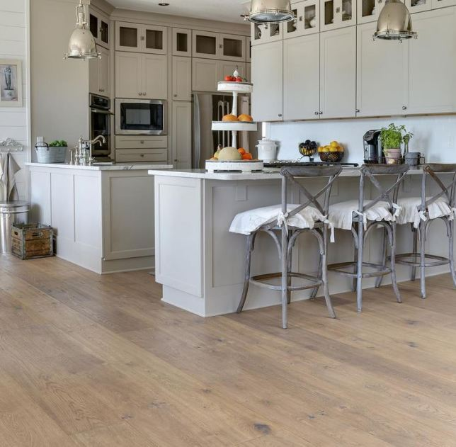 Kitchens with Hardwood Floors | Wide Plank Flooring Arimar ...