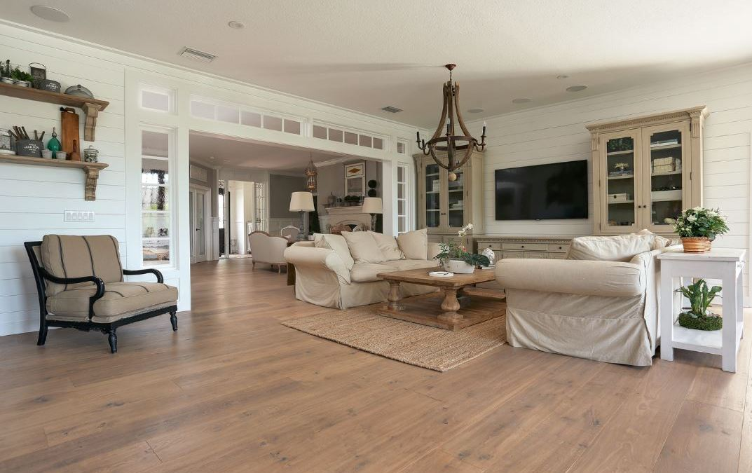 The Timeless Beauty of Wide Plank Wood Flooring