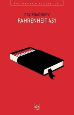 Fahrenheit 451 kitabı.