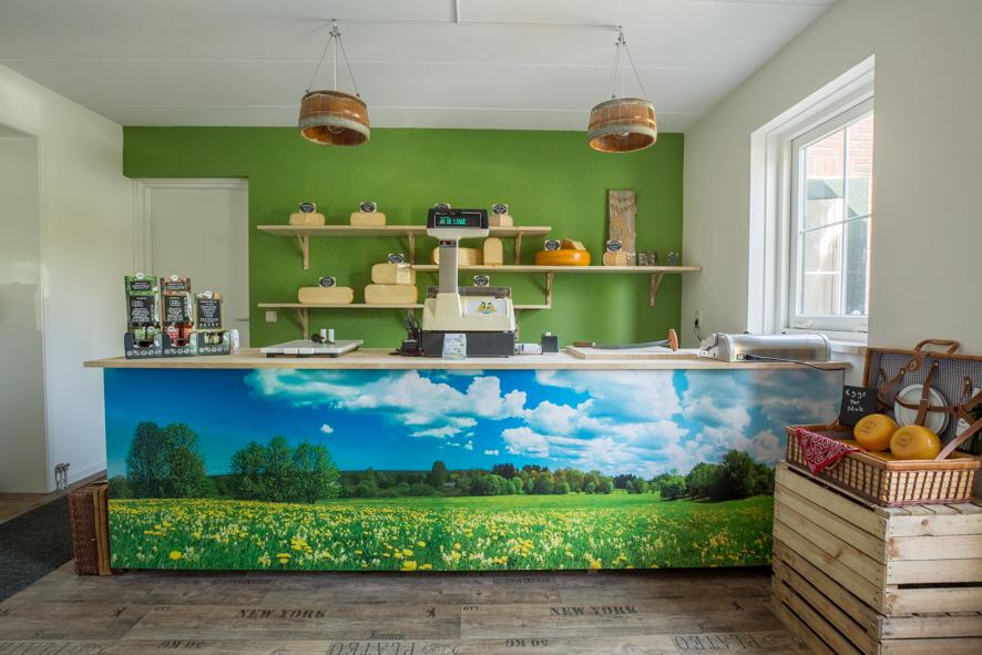 fotografie bedrijfsfotografie reportage Kaasboerderij kaaswinkel aan de linge kleur zakelijk website