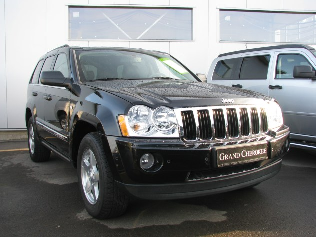 Jeep Grand Cherokee WH 3,0CRD schwarz