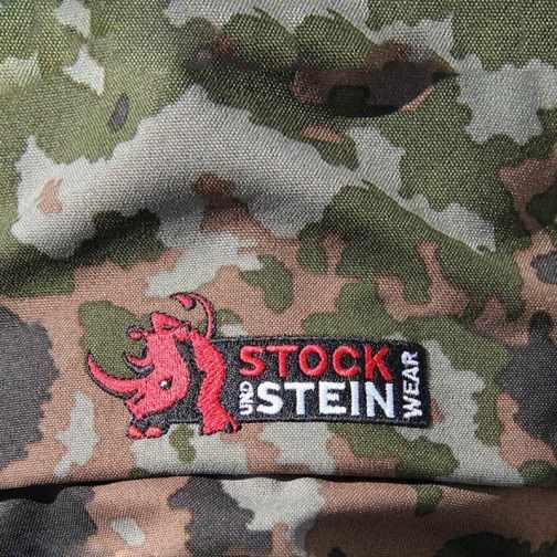 STOCK+STEIN® Regenjacke RAINMASTER Woodland Camouflage | Arinura-Shop