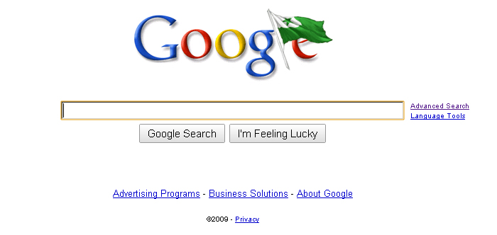Google's Zamenhoff Day Doodle