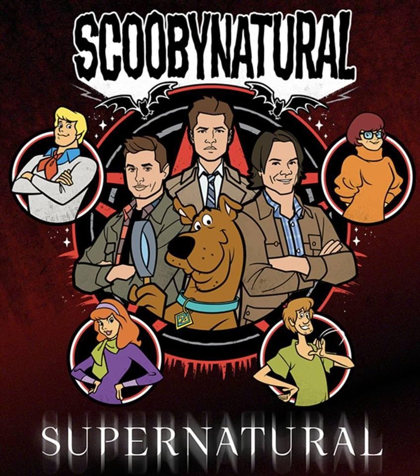 ScoobyNatural (Supernatural S13 E16)