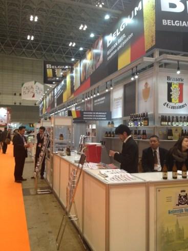 Belgian Booth, Foodex 2013