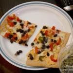 Labor Day=More Lavosh Pizzas!