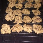 Salted Oatmeal Chocolate Chip Cookies!