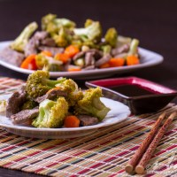 Gingery Beef & Broccoli