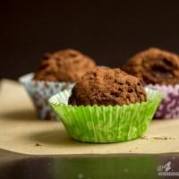 Dark Chocolate Sunflower Butter Truffles