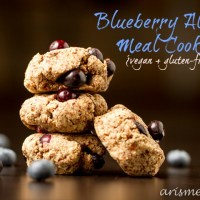 Blueberry Almond Meal Cookies {vegan + gluten-free}