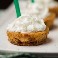 Drink & Dish: Pumpkin Spice Latte Cheesecake Cups {gluten-free}