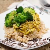 Easiest Crockpot Curry Chicken