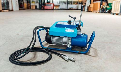 Hidraulico - Componentes y descripción de una maquina para soldar a tope