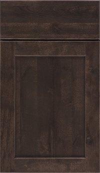 Flagstone Gray Cabinet Stain On Rustic Birch Aristokraft