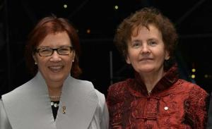AvH and Yolande Grise of the Royal Society of Canada.