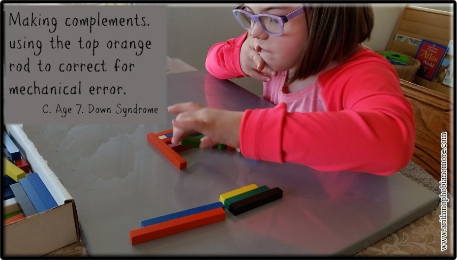 Cuisenaire: Finding Compliments