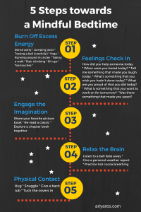 5 Steps towards a More Mindful Bedtime - Printable!