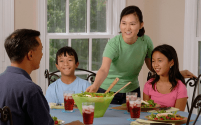 Please Pass the Ketchup: Real Benefits of Families Eating Together