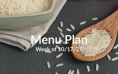Kids in the Kitchen: Menu Plan – Week of 10/17
