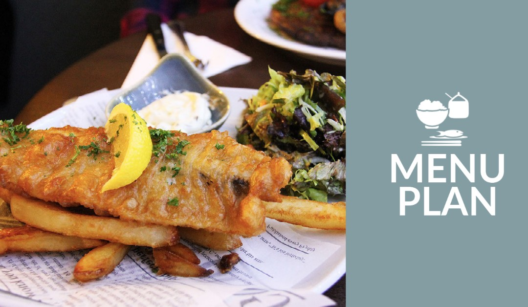 Menu plan image for 10-3 (picture of fish and chips)