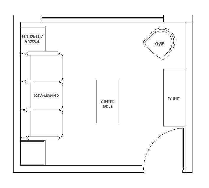 Guest Room Plan
