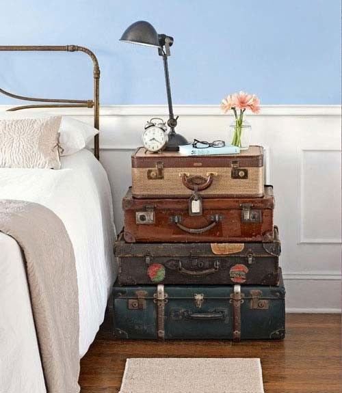 Suitcase decor