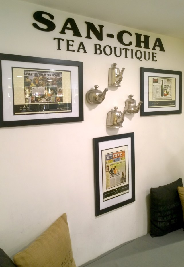 Tea Themed Decor