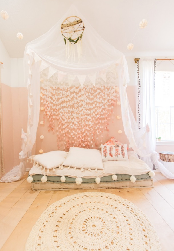 How to Make Pretty Girly Rooms That Are Not Pink • One Brick At A Time