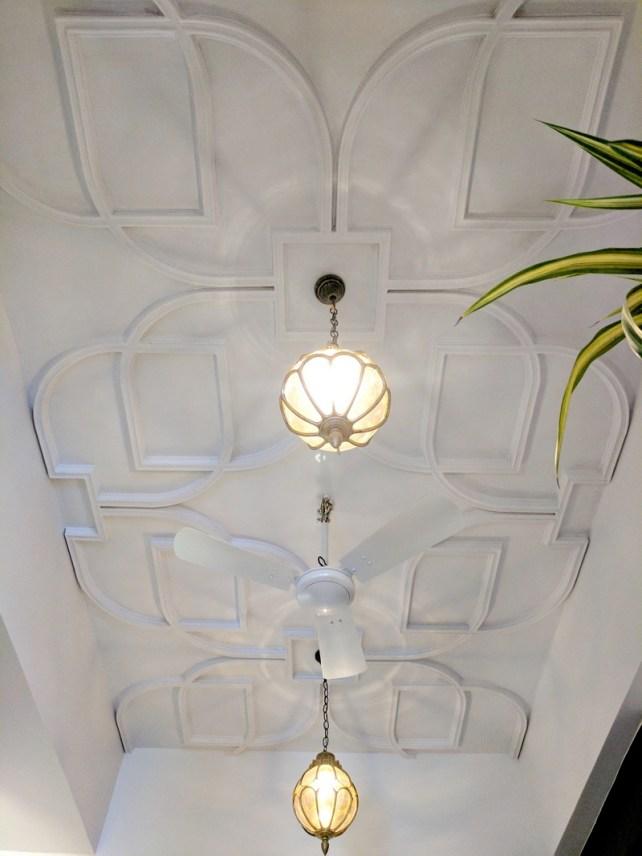 Oriental Foyer Ceiling Design